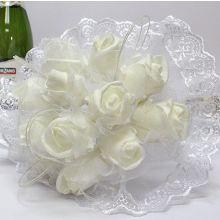 """Букет-дублер для невесты на свадьбу """"Сказка"""" (белый)"""