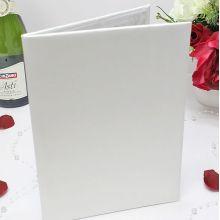 Папка для самостоятельного декорирования (белый) для свидетельства (старый формат)