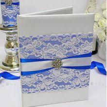 """Папка для свидетельства о браке """"Афродита"""" (синий)"""