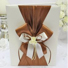 """Папка для свидетельства о браке """"Chocolate"""" (айв/шоко)"""