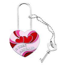 """Замок любви """"Я тебя люблю"""" (с ключами)"""