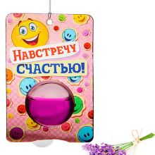 """Ароматизатор гелевый """"Навстречу счастью"""""""