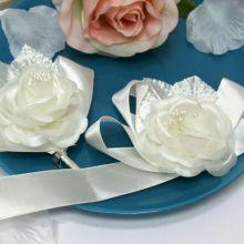 Набор свадебных аксессуаров для свидетелей Роза (айвори)