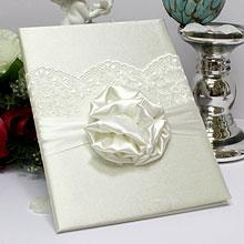 """Папка для свидетельства о браке """"Стэлла"""" (айвори)"""