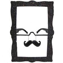 """Шуточные очки """"Рамка с усами"""""""