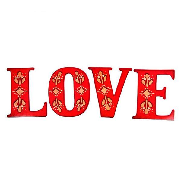 """Буквы для фотосессии """"Love"""" (красный)"""