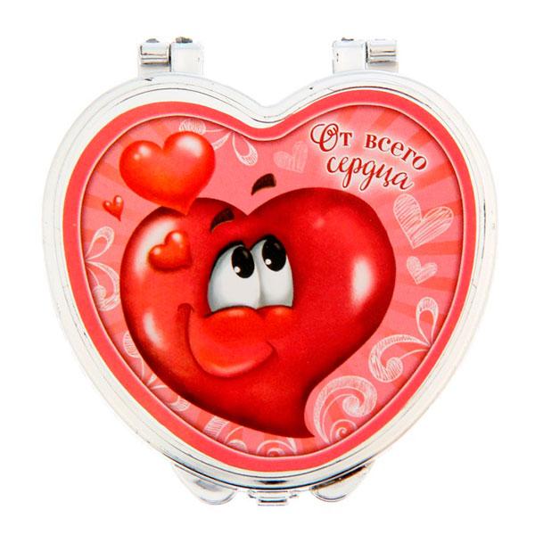 """Карманное зеркало """"От всего сердца"""""""