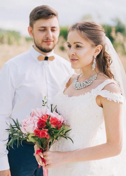 "Бижутерия на свадьбу ""Сафора"""