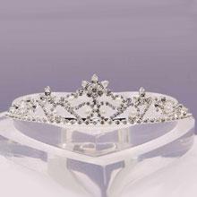 """Свадебная диадема """"Восточная принцесса"""""""