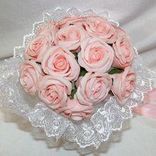"""Свадебный букет невесты """"Дрим"""" (розовый цветы)"""