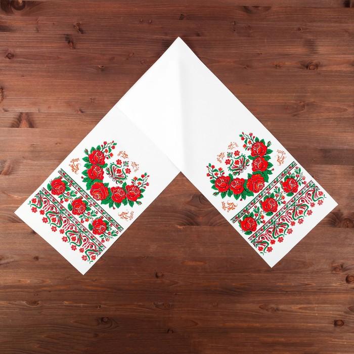 """Свадебный рушник """"Цветы любви"""""""