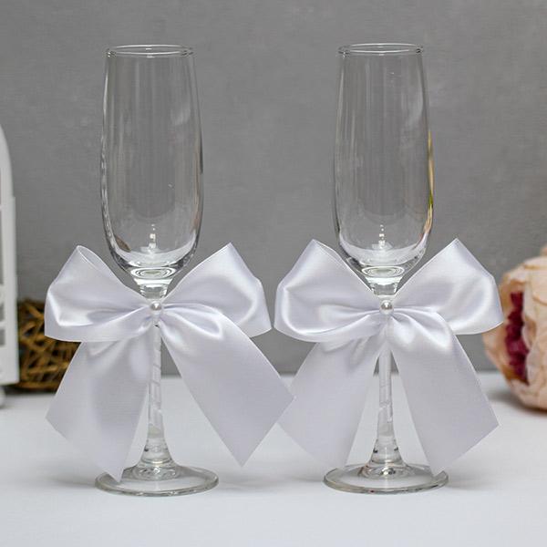 Свадебные бокалы Paradise (2 шт) (белый)