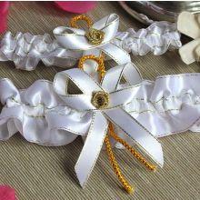 """Свадебный набор подвязок """"Принцесса"""""""