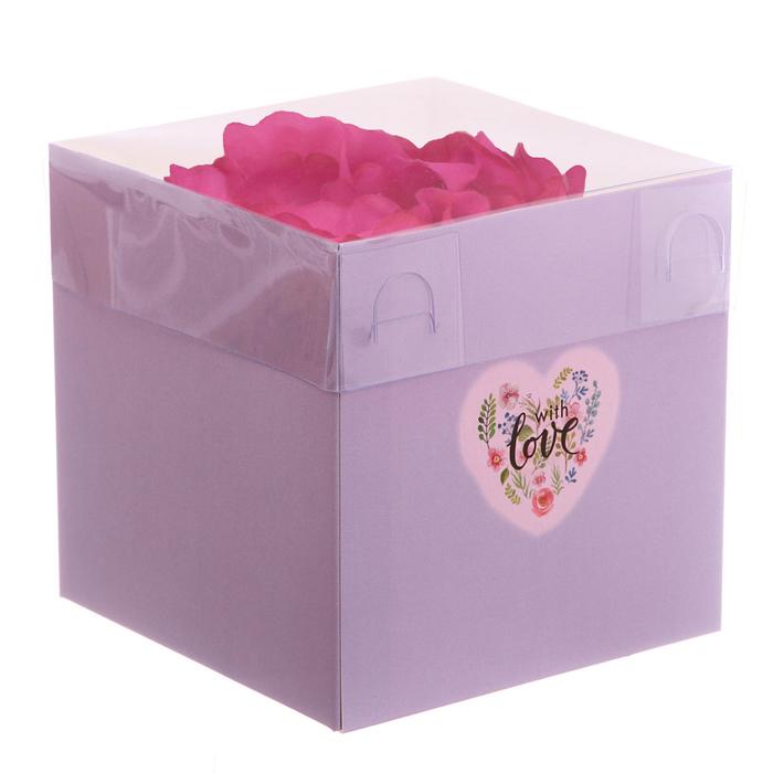 """Коробка для лепестков роз """"LOVE"""", 1 шт"""