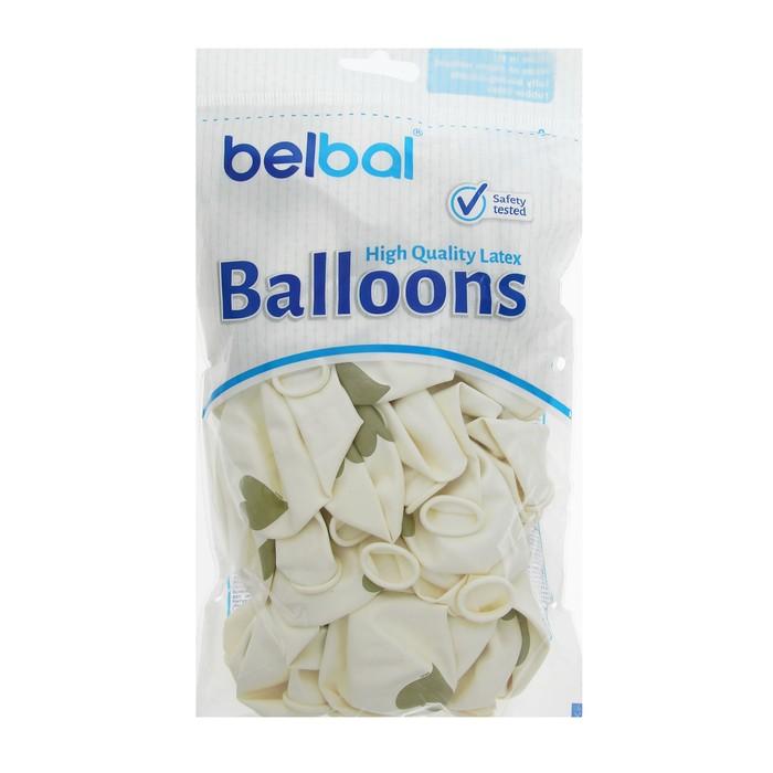 """Набор воздушных шаров """"Золотые сердечки"""" (10 шт, 35 см)"""