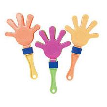 """Миниатюрная игрушка """"Рука-трещотка"""" (3 шт)"""