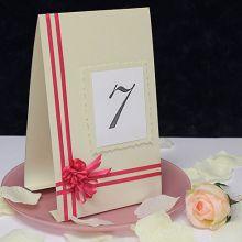 """Карточка с номером стола """"Love Story"""""""
