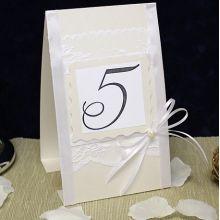 """Карточка с номером стола """"Angel"""""""