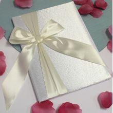 Свадебная папка о браке Paradise для свидетельства 18х25 см. (айвори)