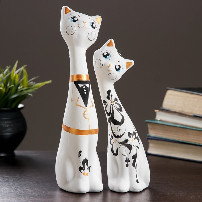 "Фигурки-котики ""Love Коты"", 2 шт.,"