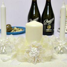 """Домашний очаг + 2 свечи """"Свадебная мечта"""""""