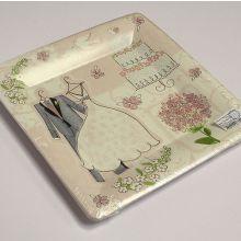 """Упаковка тарелок """"Romantic"""" (8 шт, 25 см.)"""