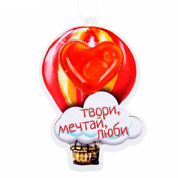 """Ароматизатор для машины """"Твори, мечтай, люби"""" (клубничный)"""