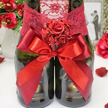 Декоративное украшение для бутылок Бордо