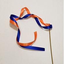 синий - оранжевый