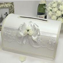 Семейный банк на свадьбу Розанна (белый)