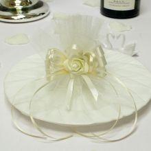 """Декоративная тарелка для битья """"Розанна"""""""