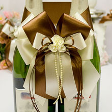 """Декоративное украшение для шампанского """"Chocolate"""""""