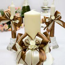"""Домашний очаг + 2 свечи """"Chocolate"""""""