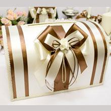 """Свадебный сундучок для денег и пожеланий """"Chocolate"""""""