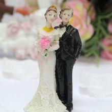 """Фигурка для торта на свадьбу """"Счастливая пара"""" (7,5 см)"""