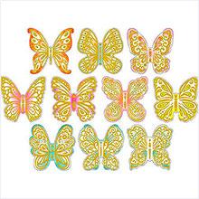 """Набор на скотче """"Бабочки""""(10 шт.)"""