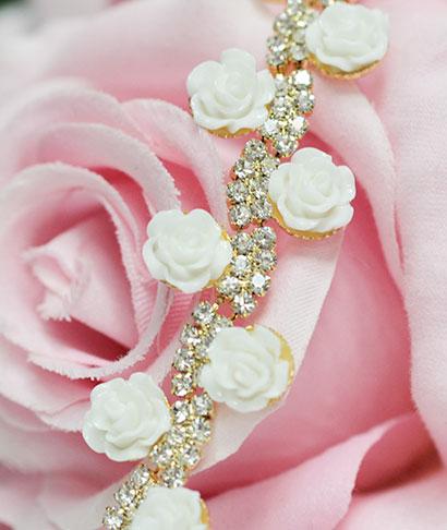 """Браслет для невесты """"Роуз"""""""
