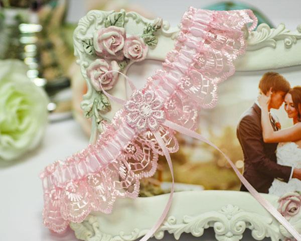 Свадебная подвязка на ногу