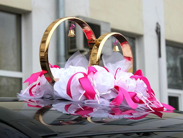 Украшение на свадьбу кольца