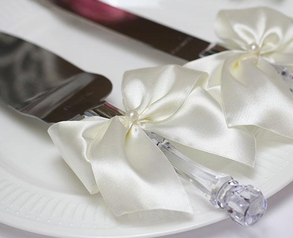 """Сервировочный набор для торта """"Paradise"""" (айвори)"""