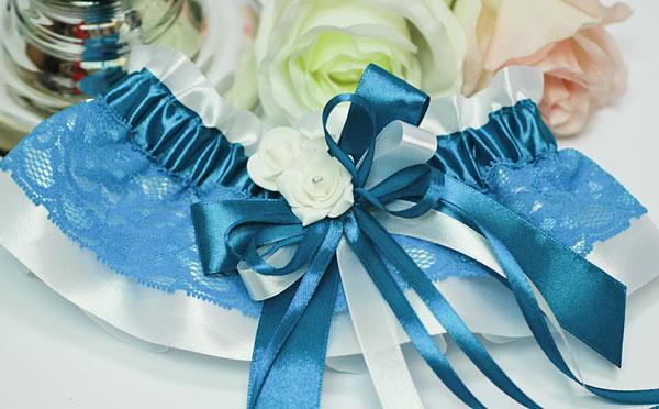 """Подвязка для невесты """"Летний бриз"""""""
