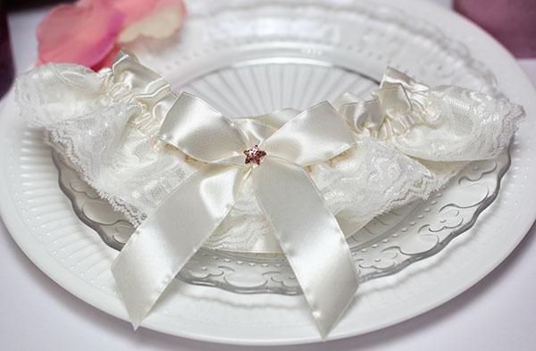 """Подвязка для невесты """"Звездочка"""""""