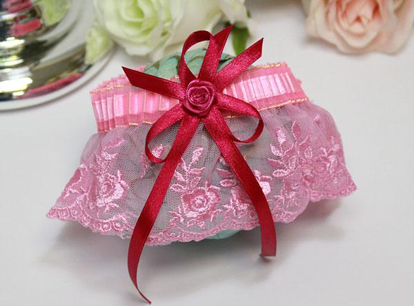 """Свадебный набор подвязок для невесты """"Анжелика"""""""