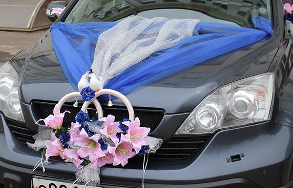 Свадебные машины украсить