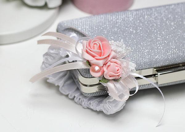 """Браслет для подружек невесты """"Розовые розы"""""""