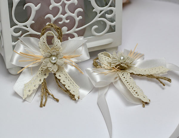 """Набор свадебных аксессуаров для свидетелей """"Полевые цветы"""""""