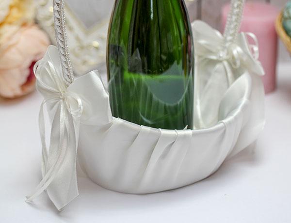 """Корзиночка для лепестков или шампанского """"Нежность"""" (айвори)"""