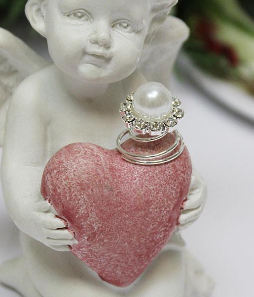 """Пружинка для свадебной прически """"Жемчужный цветок"""" (1 шт)"""