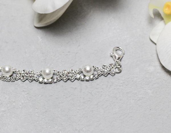 """Свадебный браслет для невесты """"Объединение"""""""