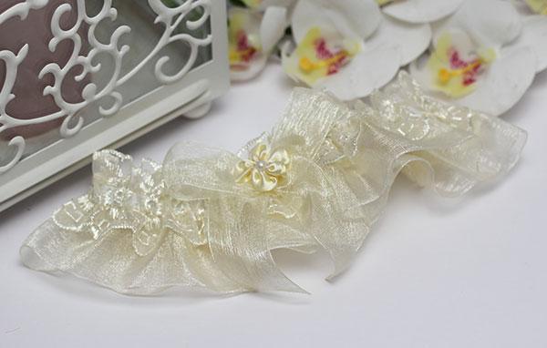 """Подвязка для невесты """"Сашенька"""""""